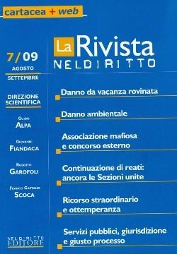 La Rivista di Neldiritto (2009). Vol. 7