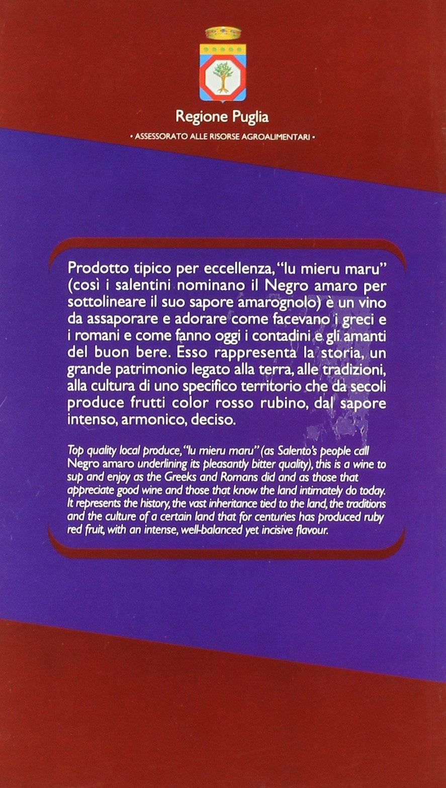 Il Negro Amaro nelle province di Lecce e Brindisi