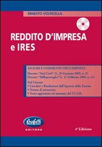 Reddito d'impresa e Ires. Con CD-ROM