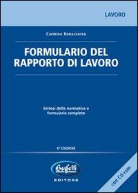 Formulario del rapporto di lavoro. Con CD-ROM