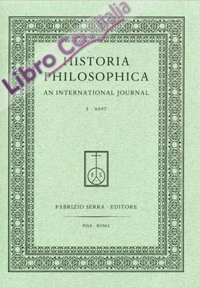 Historia Philosophica. An International Journal. 7. 2009