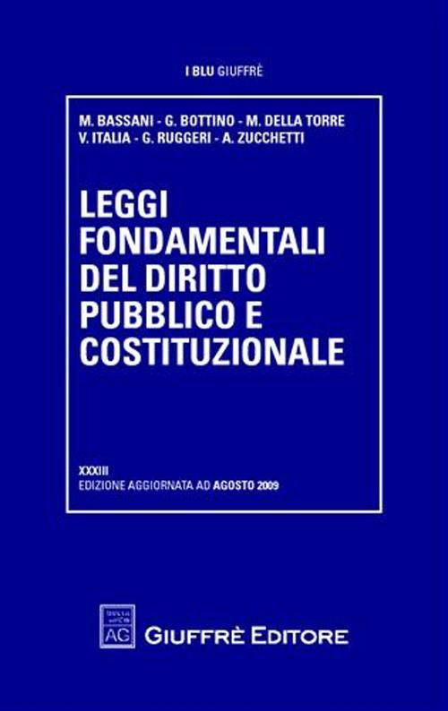 Leggi fondamentali del diritto pubblico e costituzionale