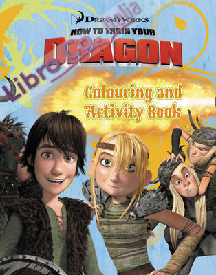 How to Train Your Dragon - Colouring and Activity Book