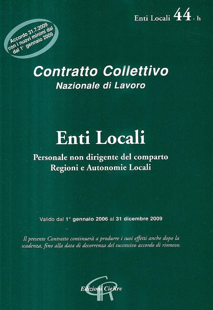 CCNL enti locali