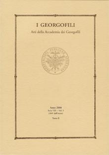 I georgofili. Atti della accademia dei georgofili. Vol. 5/2
