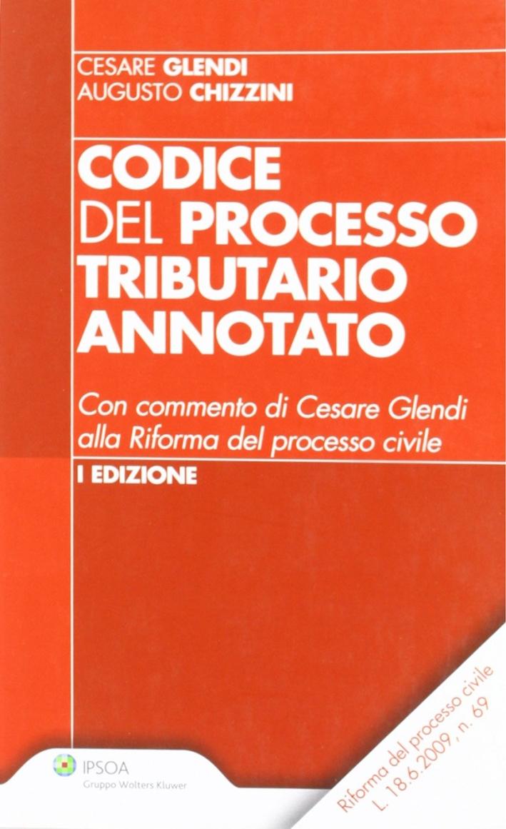 Codice del processo tributario annotato