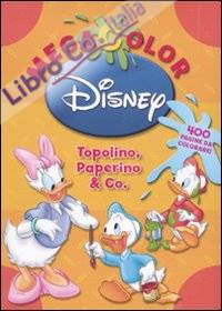 Megacolor Disney. Topolino, Paperino & co. Ediz. illustrata. Con DVD