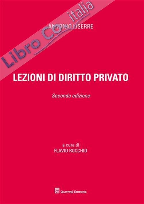 Lezioni di diritto privato.