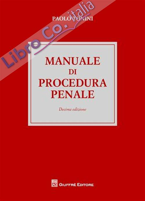 Manuale di procedura penale