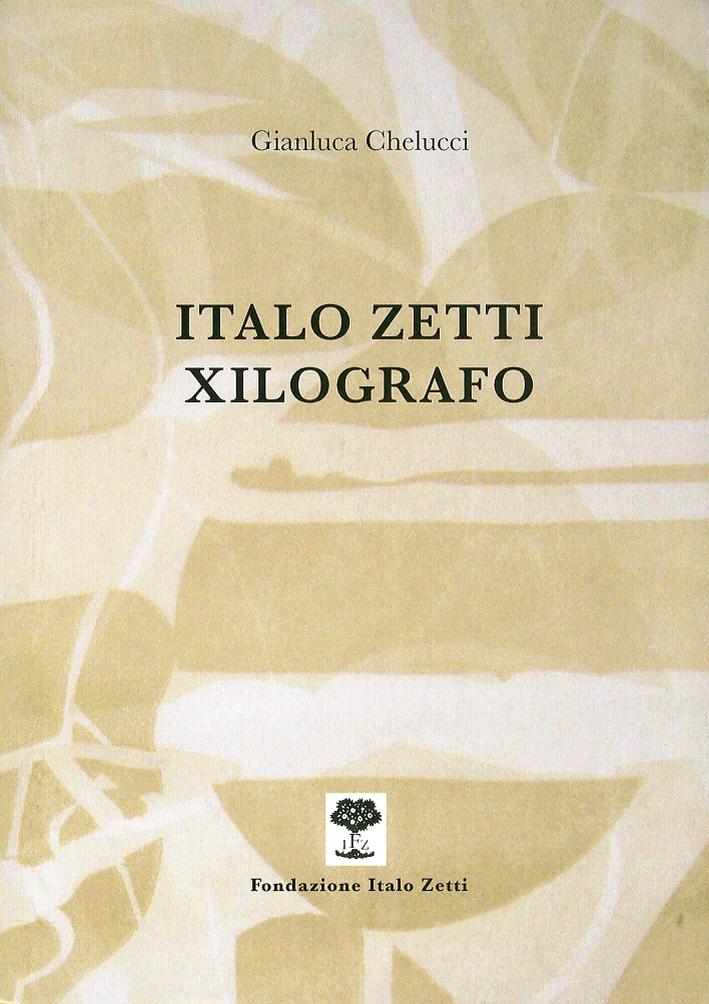 Italo Zetti xilografo.