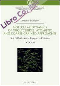 Molecular dynamics of triglycerides. Atomistic and coarse-grained approaches. Tesi di dottorato in ingegneria chimica