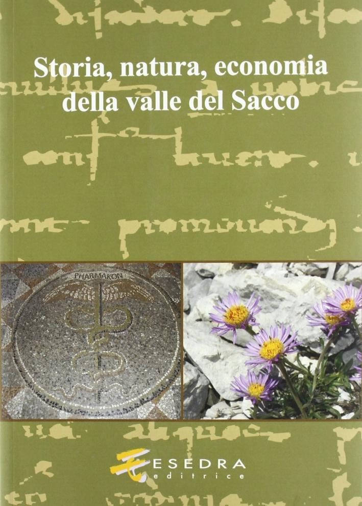 Storia, natura, economia della valle del Sacco