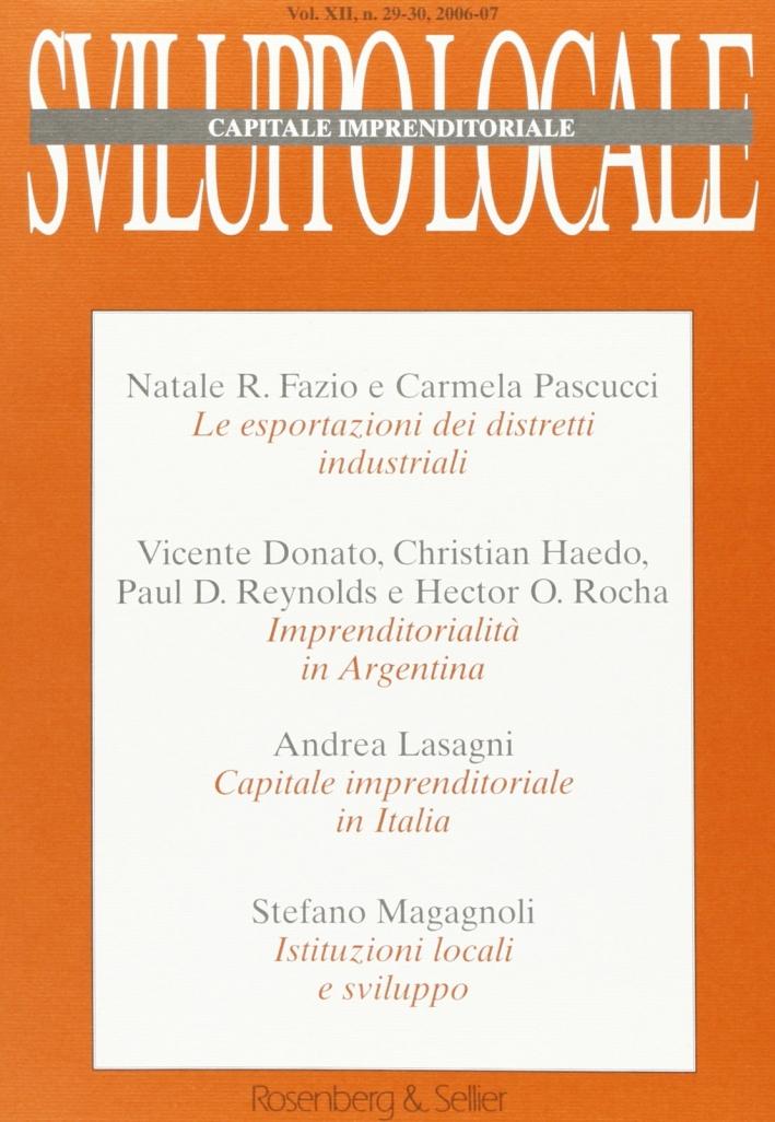 Sviluppo locale vol. 29-30