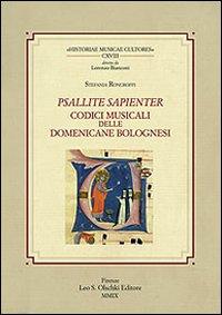 Psallite sapienter. Codici musicali delle Domenicane bolognesi