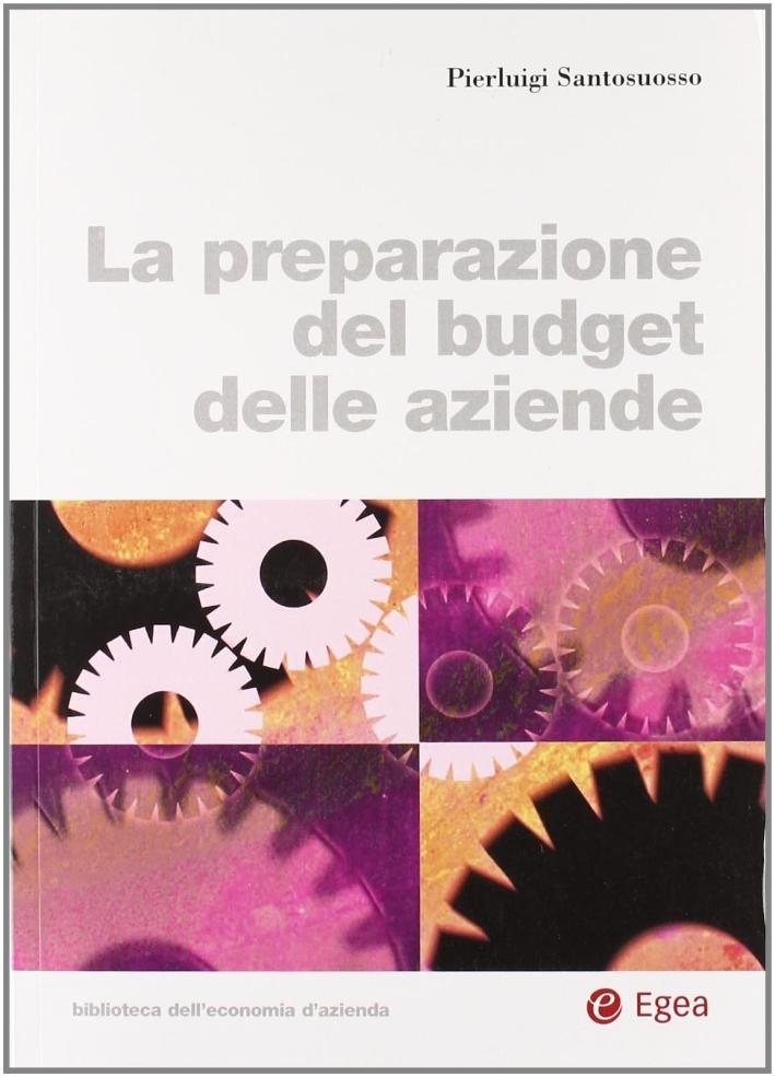 La preparazione del budget delle aziende
