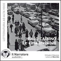 Le città invisibili. Audiolibro. CD Audio