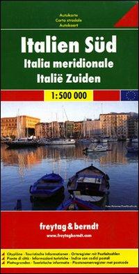 Sud Italia 1:500.000. Carta stradale. Ediz. multilingue