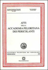 Atti della Accademia Peloritana dei Pericolanti (2009). Vol. 85