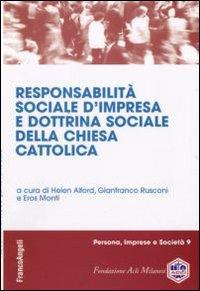 Responsabilità sociale d'impresa e dottrina sociale della chiesa cattolica