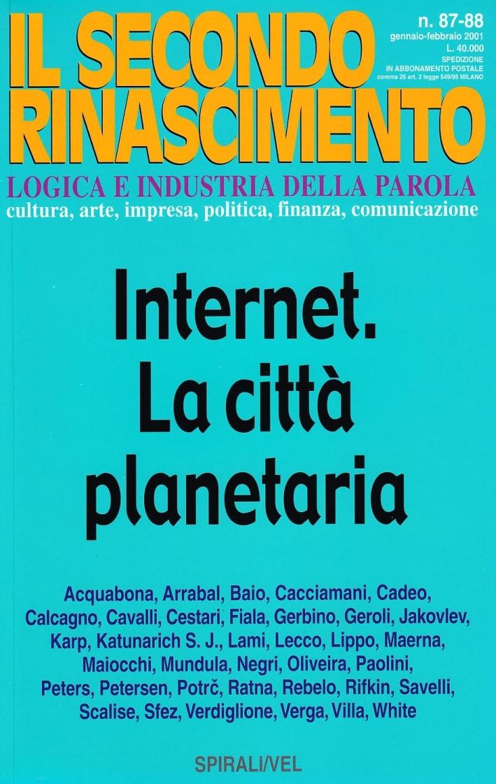 Internet. La città planetaria