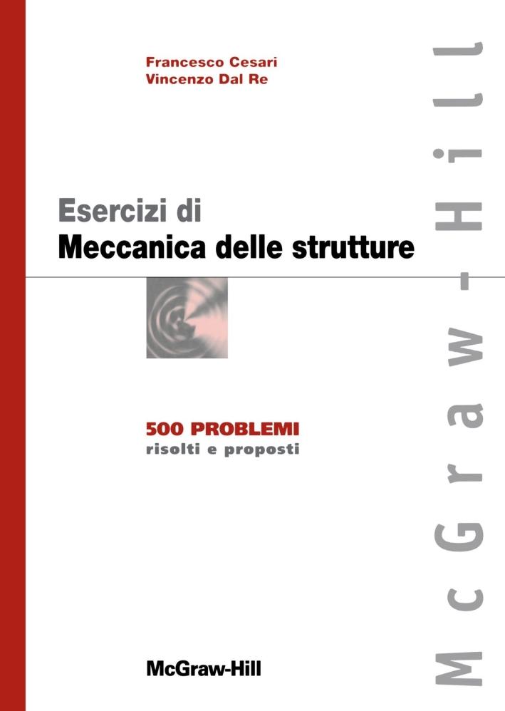 Esercizi di meccanica delle strutture.