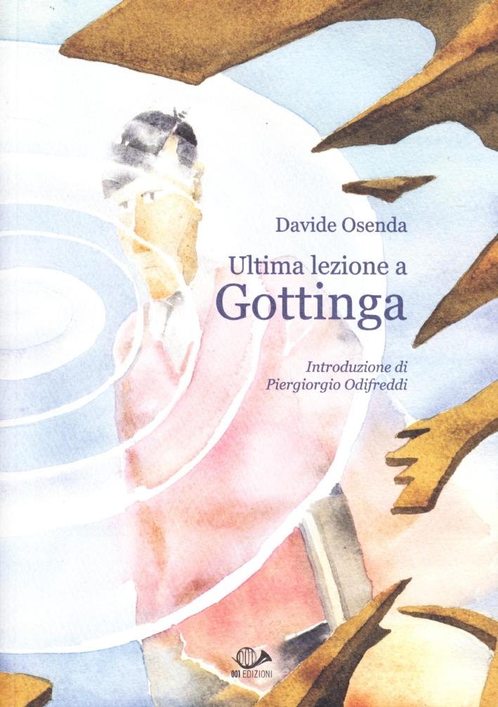 Ultima lezione a Gottinga