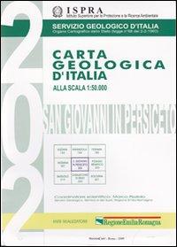 Carta geologica d'Italia 1:50.000 F° 202. S. Giovanni in Persiceto. Con note illustrative