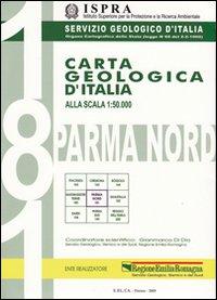 Carta geologica d'Italia 1:50.000 F° 181. Parma Nord con note illustrative