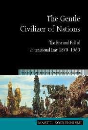 Gentle Civilizer of Nations.
