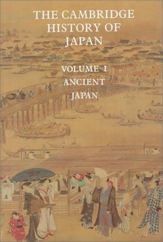 Cambridge History of Japan  6 Volume Set.