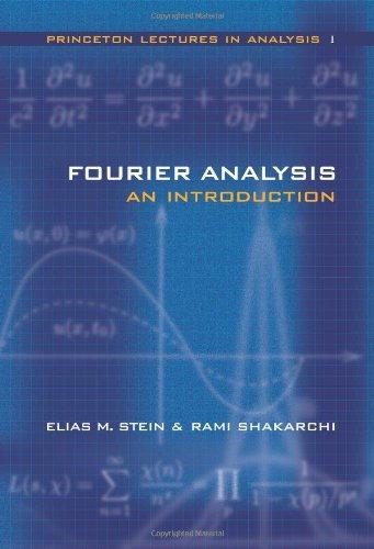 Fourier Analysis.