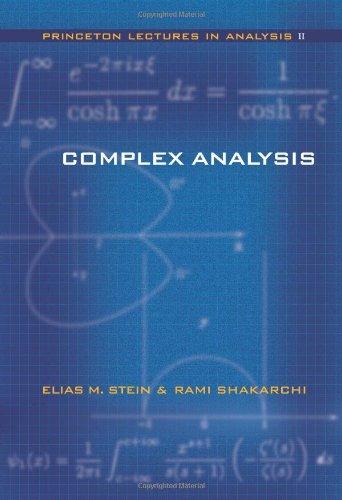 Complex Analysis.