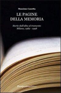 Le pagine della memoria.