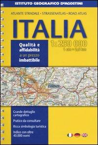 Atlante stradale Italia 1:250.000