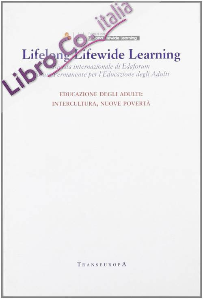 Lifelong Lifewide Learning. Rivista di EdaForum