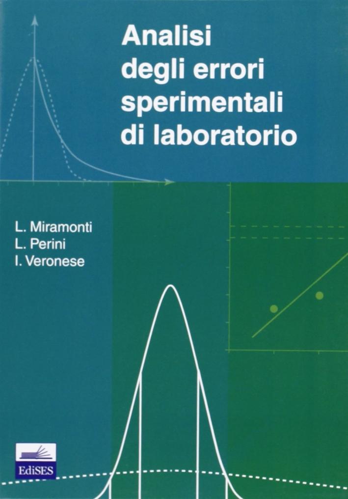 Analisi degli errori sperimentali di laboratorio.