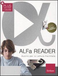 ALFa Reader Plus (KIT: libro, chiavetta USB e sintesi vocale). Ausilio per la lettura facilitata. Lettore vocale
