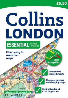 London Essential Streetfinder Atlas.