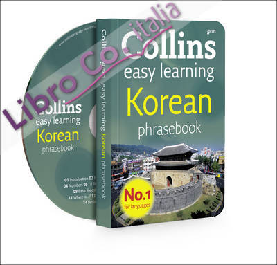Collins GEM Easy Learning Korean Phrasebook and CD Pack. [AUDIO]