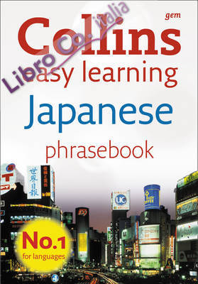 Collins Gem Easy Learning Japanese Phrasebook.