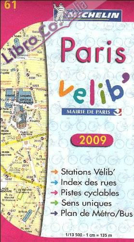 Paris Plan Velib.