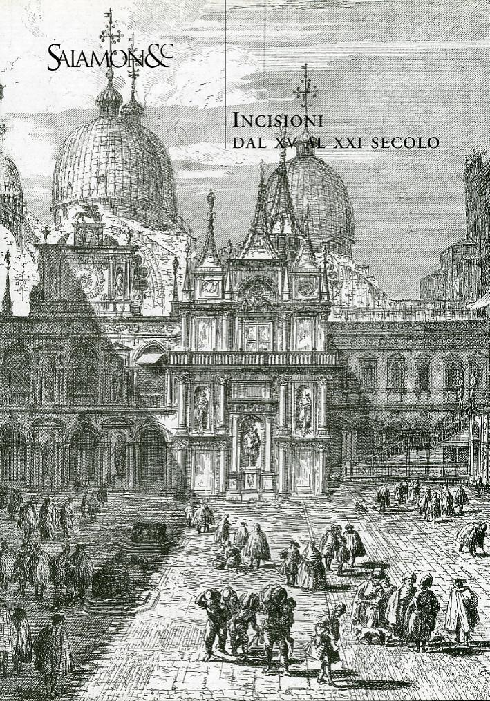 Incisioni dal XV al XXI secolo