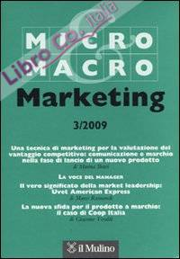 Micro & Macro Marketing (2009). Vol. 3
