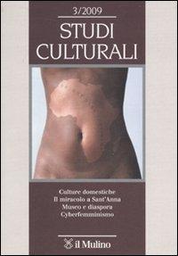 Studi culturali (2009). Vol. 3