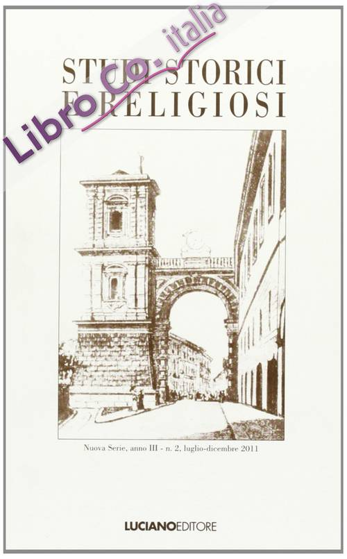 Studi storici e religiosi. Vol. 2