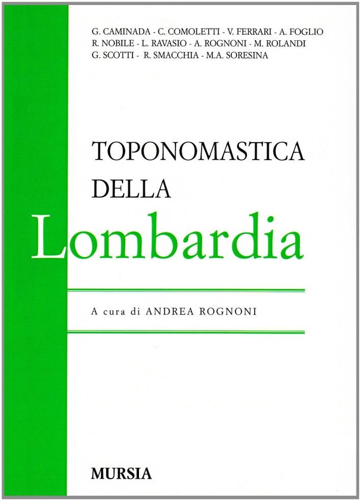 Toponomastica della Lombardia