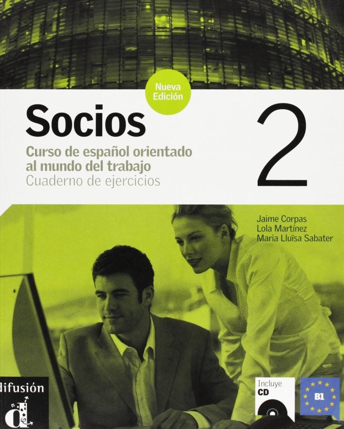 Socios. Cuaderno de ejercicios. Con CD Audio. Vol. 2