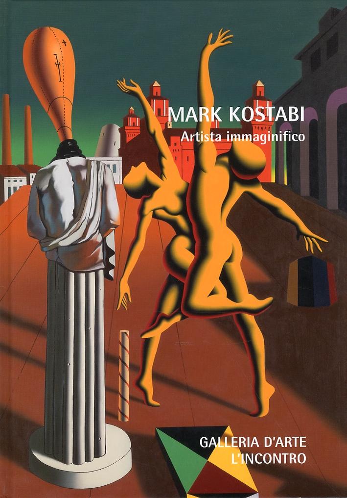 Mark Kostabi. Artista immaginifico. Highly immaginative artist.