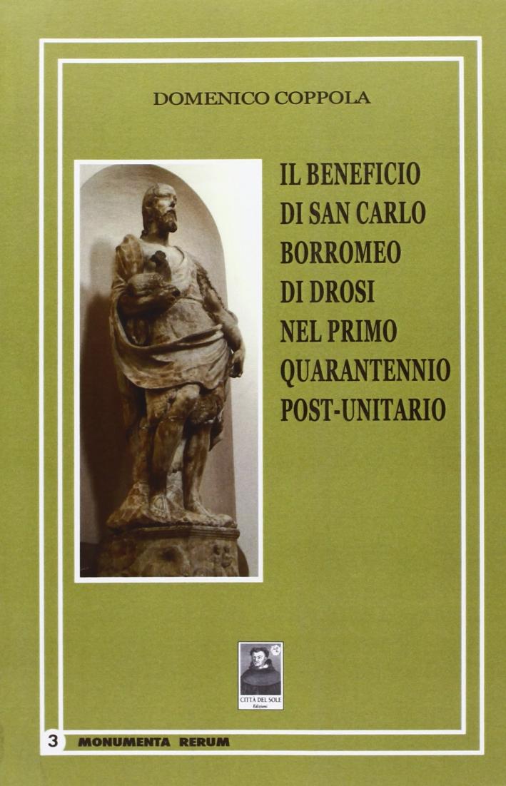 Il beneficio di San Carlo Borromeo di Drosi nel primo quarantennio post-unitario