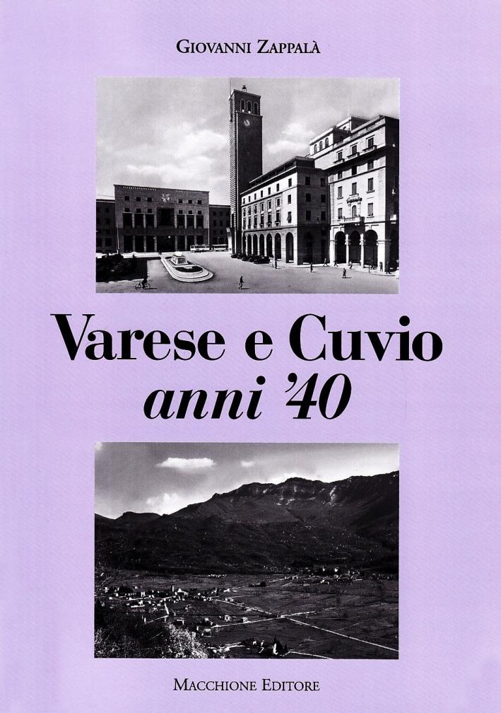 Varese e Cuvio anni '40